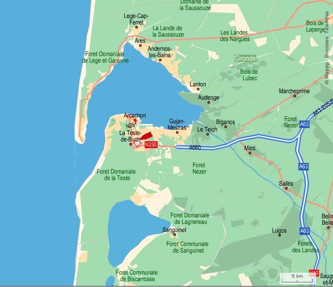 Bassin arcachon lac cazaux carnets de pierre deruelle - Office du tourisme de biscarrosse ...