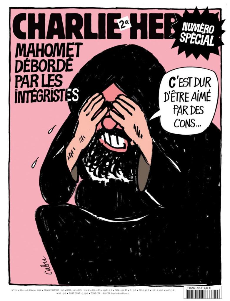 Charlie Hebdo - C'est dur d'être aimé par des cons